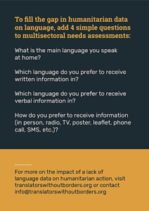 Translators Without Borders Infographic 2